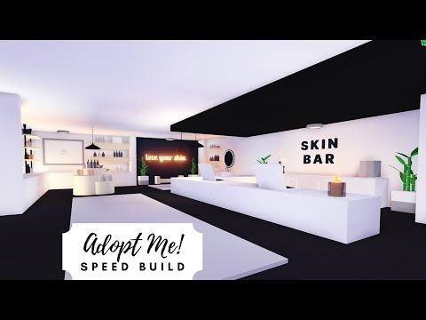 Shop House Part 1 Skin Care Shop Speed Build Roblox Adopt Me Youtube Shop House House My Home Design