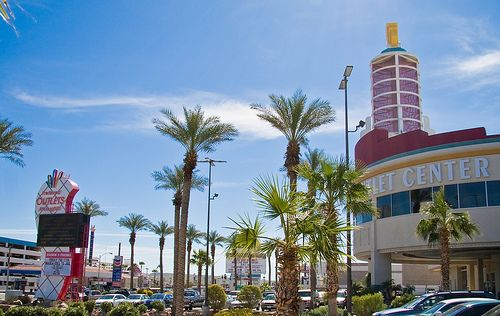 Preferred Outlet Mall     Laughlin, Nevada. Only nearby shopping for miles.