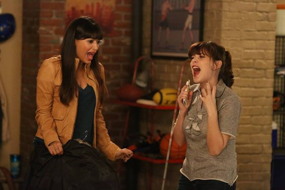 "#NewGirl 4x16 ""Oregon"" - Jess and Cece are excited travel home to Portland, Oregon for Jess's father's wedding."