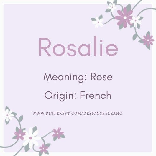 Rosalie In 2020 Scandinavian Baby Names Unisex Baby Names English Baby Girl Names