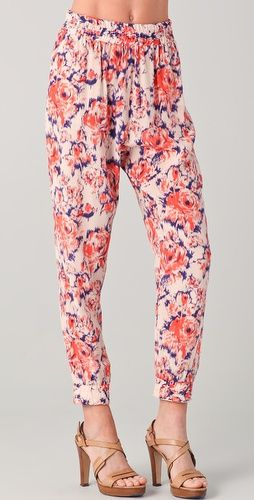 I WANT.: Cuffed Pants, Print Pants, Fancy Pants, Clothing Shoes, Floral Pants, Pants Tucker, Deez Pants