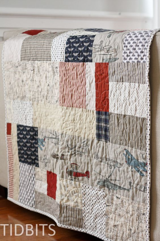 The Lazy Quilters Quilt - No Measuring Required! - Tidbits: