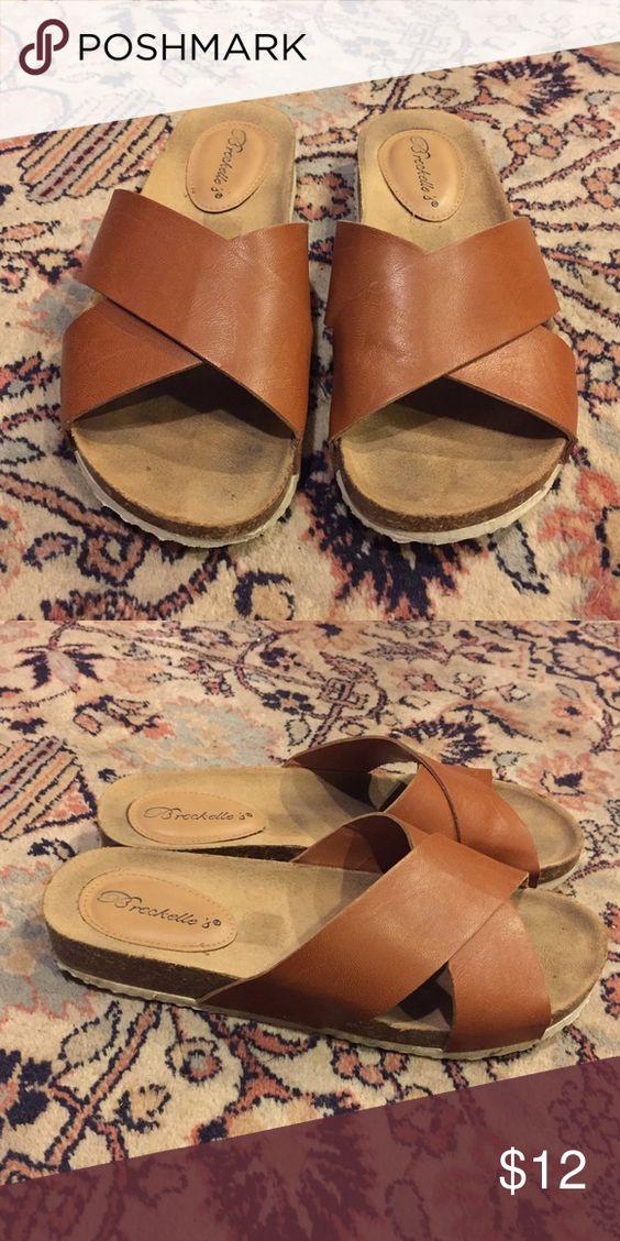 Breckelle's Sandals Breckelle's sandal. Size 7.5. Slightly worn. Breckelles Shoes Sandals