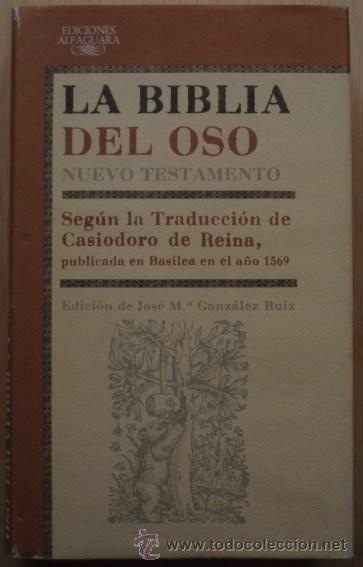 La Biblia del Oso: Nuevo Testamento - Alfaguara, 1987