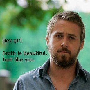 Gah. Real Food Ryan Gosling.