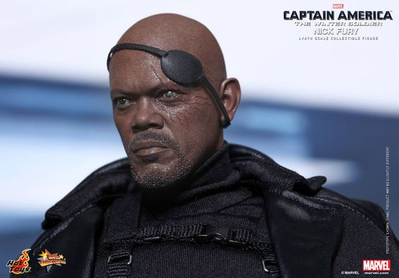 Hot Toys Reveals Nick Fury Figure from Captain America: The Winter ...