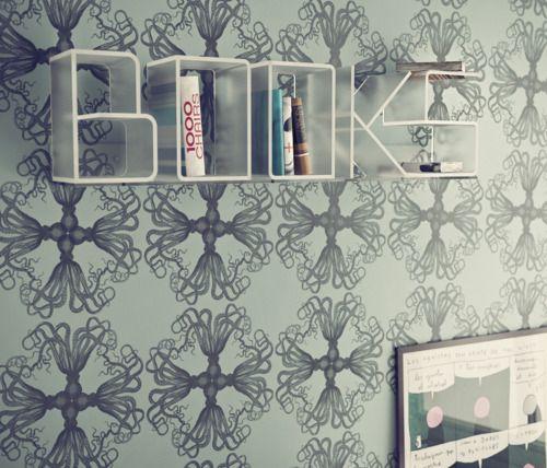 what a cool bookshelf
