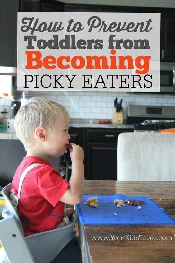 Many toddlers are naturally picky eaters, but if it isn't handled in the right way it could lead to a lifetime of picky eating. Learn how to prevent that from happening to you child.