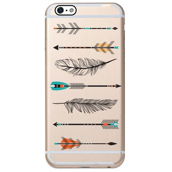 Clear Arrow iPhone 6 Case