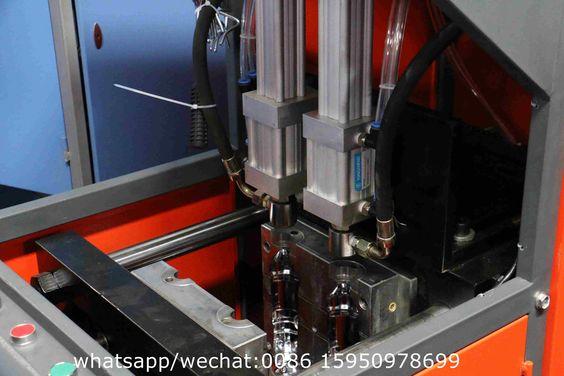 semi-auto 2cavity PET bottle blow molding machine factory
