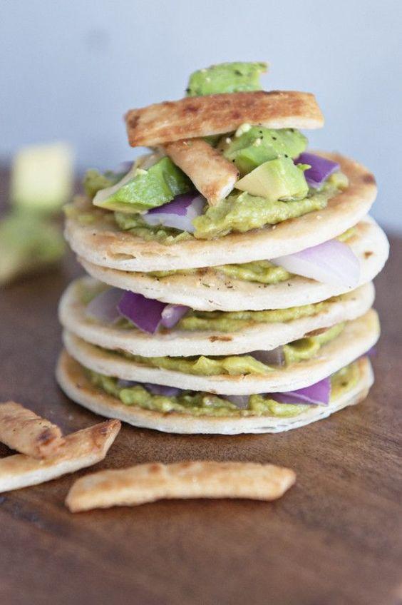 Smoky Avocado Tortilla Stacks | dineanddish.net