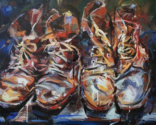 peintures de l'artiste Paul Wright | Artiste, Peinture, Drawing
