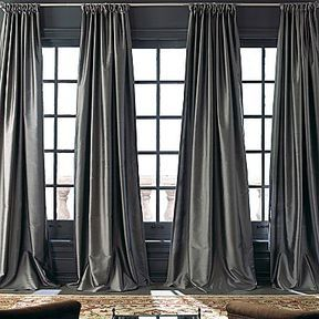 Royal Velvet® Grandeur Silk Rod-Pocket/Back-Tab Curtain Panel on shopstyle.com