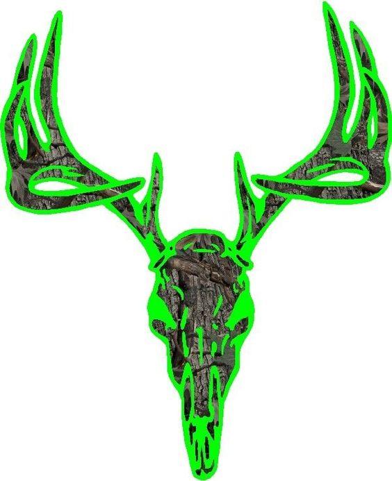 deer skulls and cornhole decals on pinterest