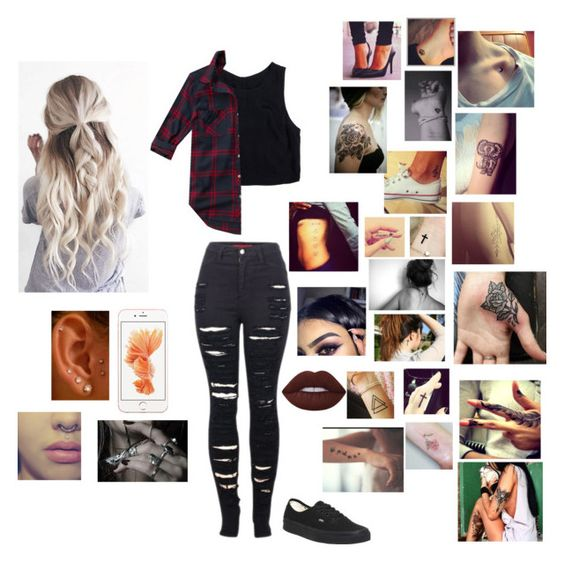"""""""Untitled #113"""" by secretslauren on Polyvore featuring 2LUV, Lush Clothing, Abercrombie & Fitch and Vans"""