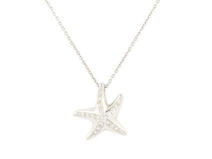 Starfish Pendant  http://www.StilettosMagazine.com