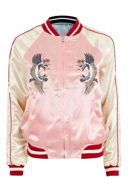 Two-in-One Reversible Bomber Jacket
