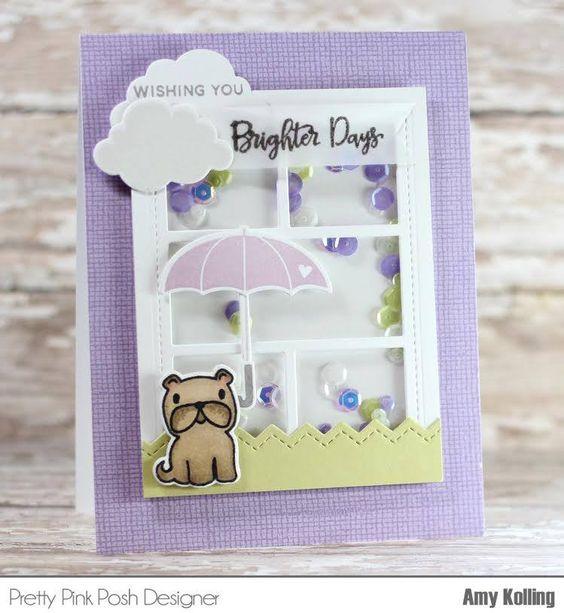 window shaker card by Amy Kolling