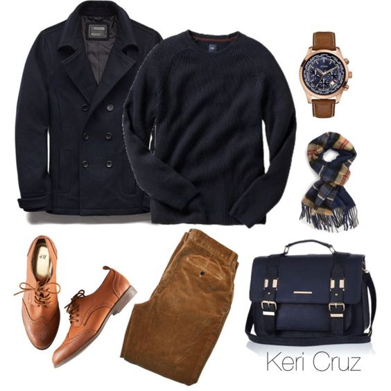 A fashion look from October 2015 featuring H&M oxfords and River Island handbags. Browse and shop related looks.