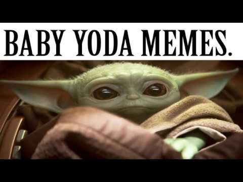 Baby Yoda Meme Compilation Star Wars Darth Sidious The Mandalorian Episode 3 Review Reaction Youtube Yoda Meme Yoda Star Wars Darth