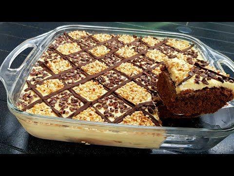 Cake كيك كيكة تركية بالشكلاط رهيبة المذاق حجم عائلي X2f كيكة سهلة وسريعة X2f كيكة الشوكولاته X2f تحلية راقية Youtub Middle Eastern Desserts Desserts Food