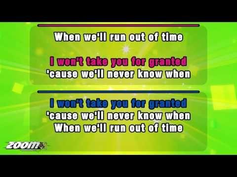 Zoom Karaoke - Meghan Trainor feat. John Legend - Like I'm Gonna Lose You [Full Version With Lyrics] - YouTube