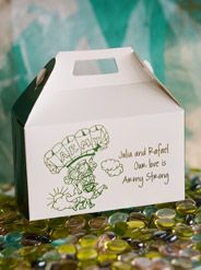 """Army Couple on a Gable Box in Green  """"Army Strong"""""""