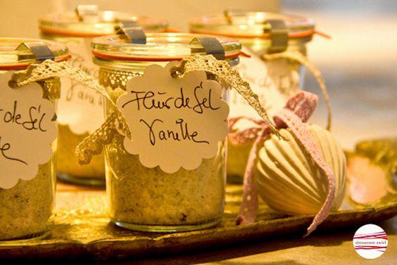 """Salz - *Aromatisches Fleur de Sel """"Vanilla""""* - ein Designerstück von CinnamonSwirl bei DaWanda"""