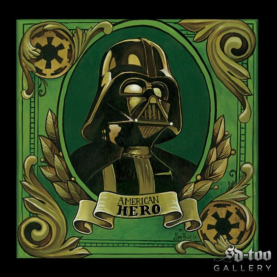 "Greg Bartz - American Hero - 20x20"" Inkjet Giclee Art Print"