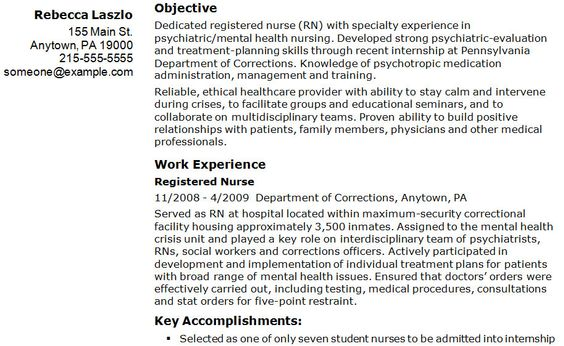 registered nurse resume Nursing Resume Templates Free Resume - resume for nurses