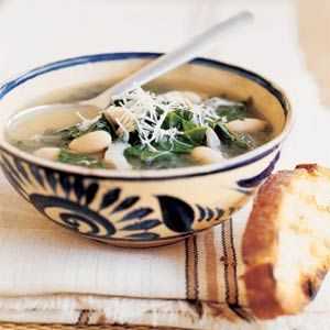 White bean and chard soup- making this tonight!