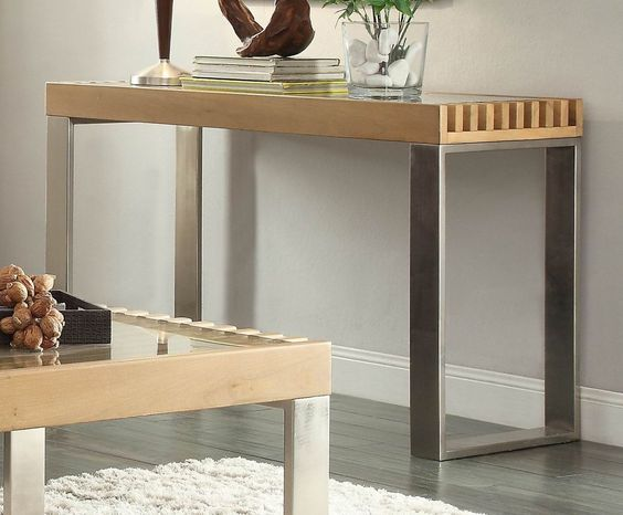 Raeburn Sofa Table with Glass Insert 3511-05 Free Shipping