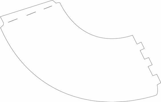 patron des petits abat jour en papier sur verres pied cam pinterest. Black Bedroom Furniture Sets. Home Design Ideas