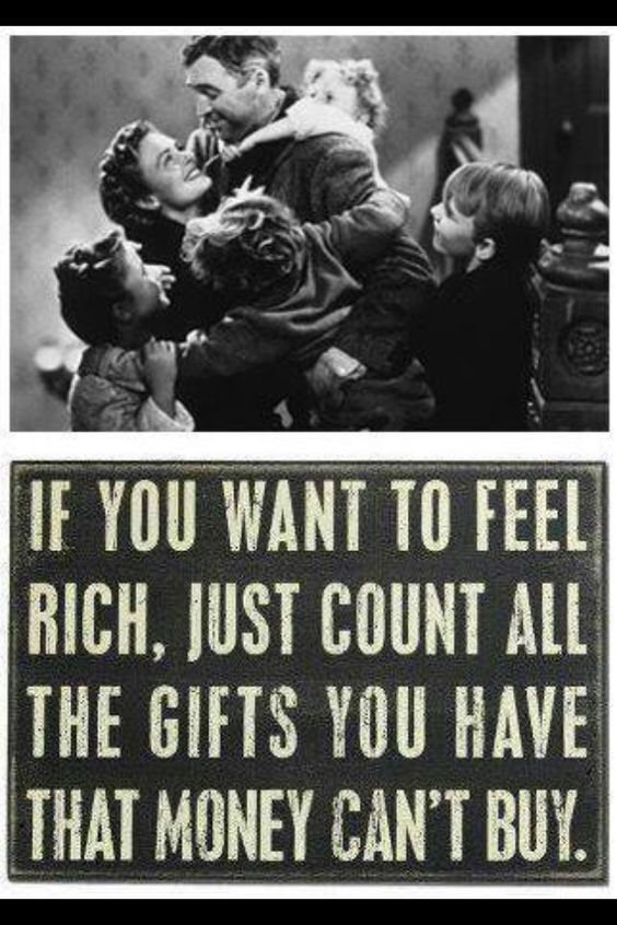 I'm rich because, I love I have hard and I had childeren and I want more children.
