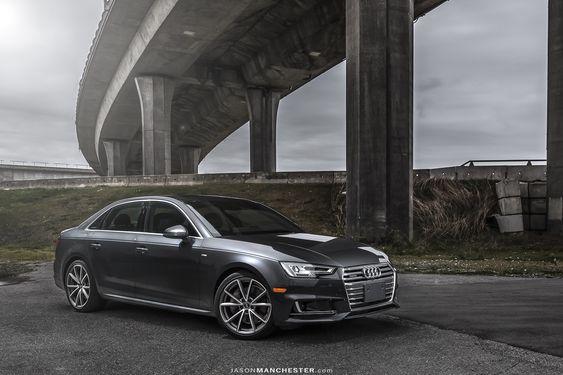 2017 Manhattan Grey Metallic Audi A4
