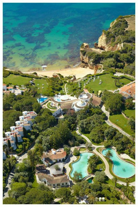 Vila Vita Parc, which is located near the town of Porches in Portugal