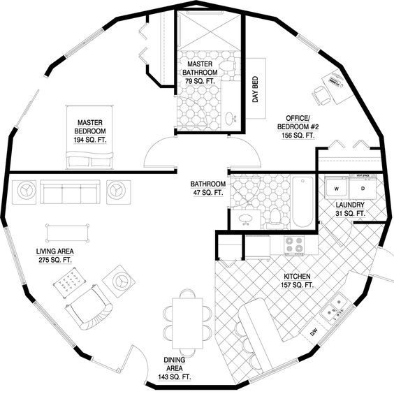 Pin By Carmen Garcia Garcia On Arquitectura Custom Floor Plans Round House Plans Round House