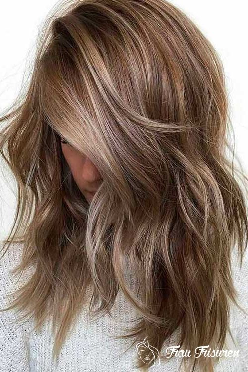 2019 Trending Layered Haarschnitte Fur Damen Haarfarben Haarfarben Ideen Haarfarbe Dunkelblond