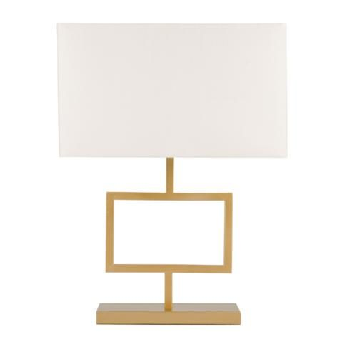 Table Lamp Rectangle Gold W White Shade 63cm R1199 Lamp I Like Lamp Table Lamp
