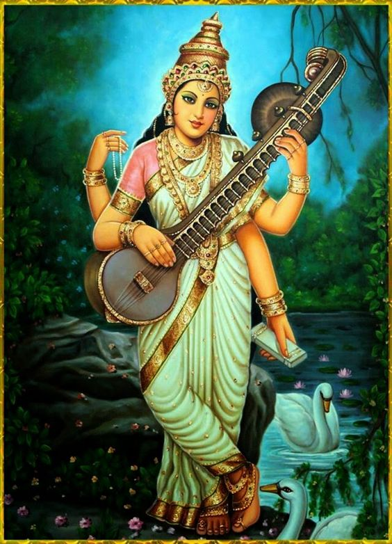 Goddess Saraswati Saraswati is the Hindu Goddess of learning and ...