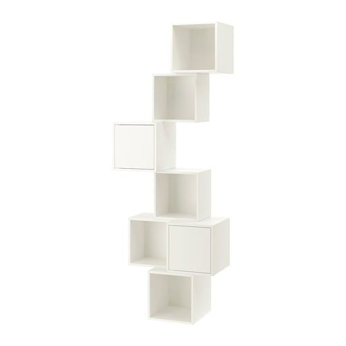 Eket Wall Mounted Cabinet Combination White 31 1 2x13 3 4x82 5 8
