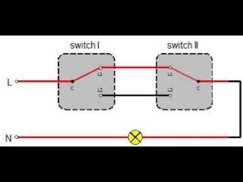 Two Way Light Switch Diagram Australia, 2 Way Switch Wiring Diagram Uk