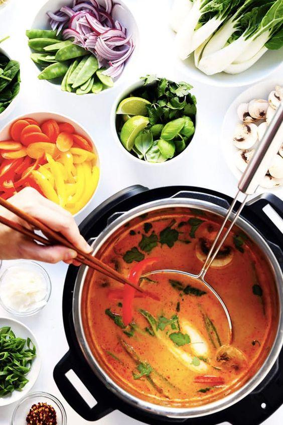 Easy Thai Curry Hot Pot