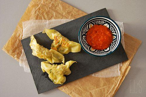 Raviolis grillés au porc - Tangerine Zest