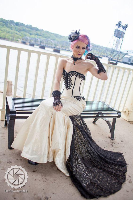 Mermaid Wedding Dresses Mermaid Wedding And Steampunk On Pinterest