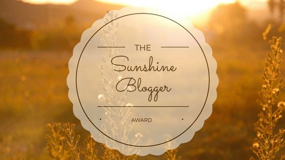 I've had the wonderful honor of being nominated by AllWrite? Facebook Group Owner Debbie Jinks for the oh-so-coveted Sunshine Blogger Award!