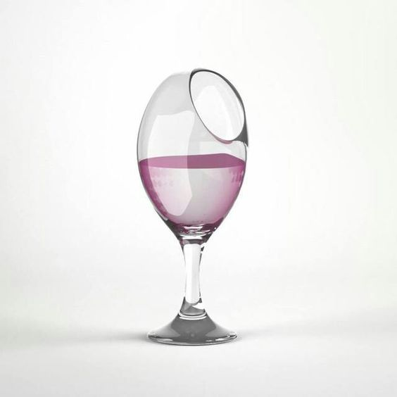 Try to look sophisticated drinking out of this