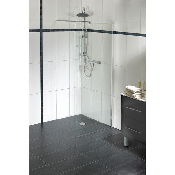paroi de douche fixe parma parois de douche bricorama ammenagement salle de bain. Black Bedroom Furniture Sets. Home Design Ideas