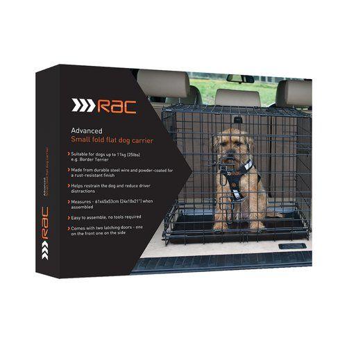Archie Oscar Chipman Fold Flat Crate With Mattress Bandana Pet Shipping Dog Carrier Dogs