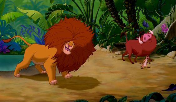 The Lion King Simba's Hair